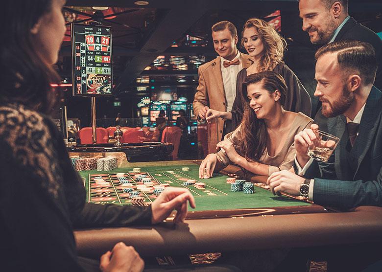 Déroulement d'une partie de poker